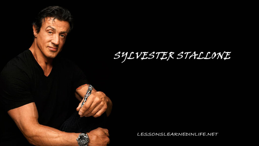 Top Best Sylvester Stallone Quotes Of Success