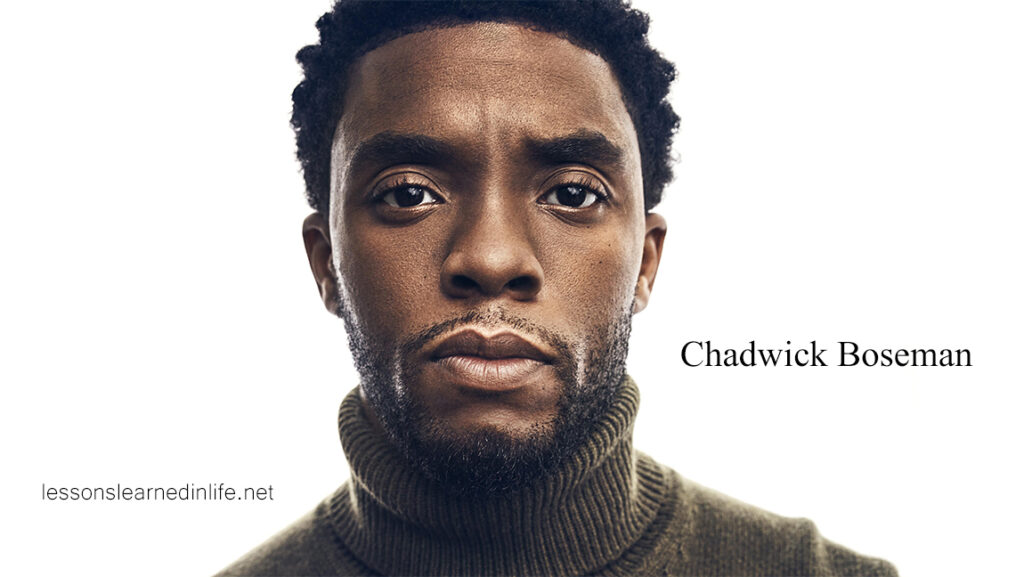 Top Best Chadwick Boseman Quotes & Sayings